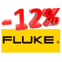 Скидка 12% на весь ассортимент Fluke Industrial