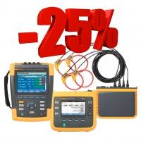 Скидки до 25% на анализаторы качества электроэнергии Fluke Industrial