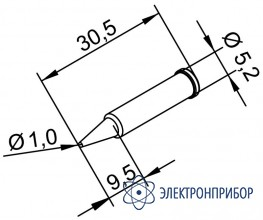 Конус 1 мм (к i-tool, i-tool nano) 102PDLF10