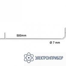 Трубка пито, длина 500 мм, диаметр 7 мм, нерж. сталь, для измерения скорости потока 0635 2045