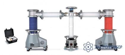 Высоковольтная снч установка для испытания кл до 110кв HVA200