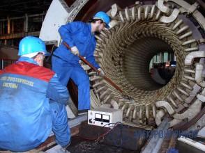 Высоковольтная портативная испытательная установка для неразрушающего контроля изоляции электрических машин КВИС-40
