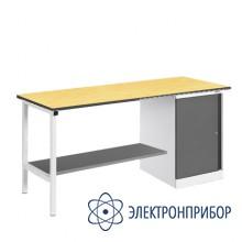 Верстак, оснащенный тумбой ВР-15Т/№1