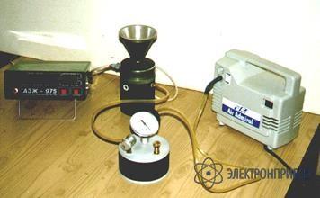 Для азж-975 Электрический вакуумно-нагнетательный насос с ресивером, регулятором и распределителем