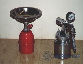 Для азж-975 Моечная система со струйным пистолетом и баком сбора отработки