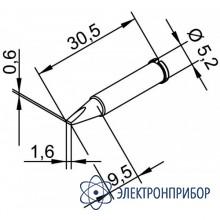 Клин 1,6 мм (к i-tool, i-tool nano): штатное жало в комплекте паяльника i-tool 102CDLF16