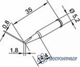 Клин длинный 1,8 мм (к i-tool, i-tool nano) 102CDLF18L