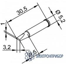 Клин 3,2 мм (к i-tool, i-tool nano) 102CDLF32
