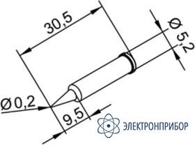 Конус 0,2 мм (к i-tool, i-tool nano) 102PDLF02