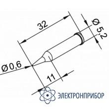 Конус длинный 0,6 мм (к i-tool, i-tool nano) 102PDLF06L