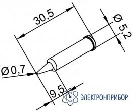 Конус 0,7 мм (к i-tool, i-tool nano) 102PDLF07
