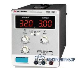 Источник постоянного тока 0,01 а-3 а и напряжения 0,1 в-30 в АТН-1033