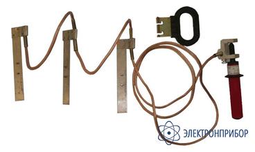Заземление переносное для распределительных устройств 3-х фазное до 1кв ПЗРУ-2Н (сеч. 16мм2)
