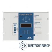 Микропроцессорное устройство защиты понизительно-выпрямительного агрегата электрифицированных железных дорог и метрополитена Сириус-ЖД-ПВА
