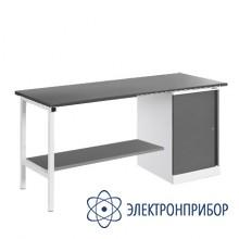 Верстак, оснащенный тумбой ВР-18Т/№2