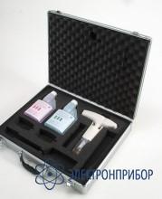 Портативный ph-метр с кейсом и буферными растворами Testo 205 комплект