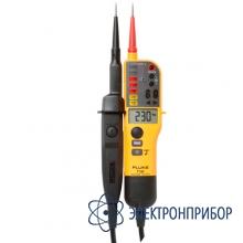 Тестер напряжения/целостности с жк-дисплеем и переключаемой нагрузкой Fluke T130