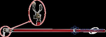 Штанга изолирующая универсальная (до 15 кв) ШОУ-15
