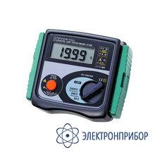 Измеритель сопротивления фаза-ноль KEW 4116A