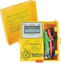 Измеритель полного сопротивления, тока кз, нагрузочной способности электросети 1825 LP
