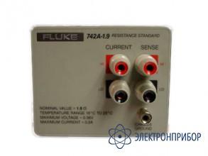Стандарт сопротивления 1,9 ом Fluke 742A-1.9