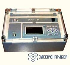 Прибор контроля качества твердой изоляции электроустановок по измеренной динамике токов абсорбции ИТА-1М
