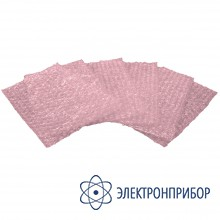 Антистатическая рассеивающая розовая упаковка с воздушными демпфирующими прослойками 20-021-6003
