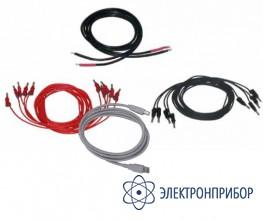 Набор тестовых кабелей для  тестера релейных защит t-1000 Набор кабелей