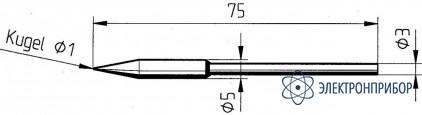 Конус 1мм (к microtool) 212AD-LF