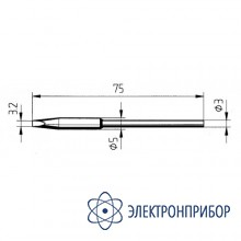 Клин 3,2мм (к microtool) 212GD