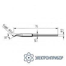 Конус 0,6мм, изогнутое (к microtool) 212ID