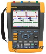 4-х канальный переносной осциллограф (100 мгц) с комплектом scc290 Fluke 190-104/S