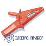 Зажим-насадка типа «крокодил» 1000 в / 12 а (цвета: красный / черный) PTL909-5