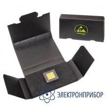 Антистатическая картонная коробка с черным поролоном (полиэстером) внутри только снизу 25-402-0020
