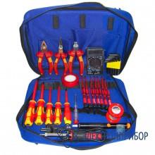 Набор инструментов электрика для высоковольтных работ до 1000в Pro&#39sKit PK-2803 BM