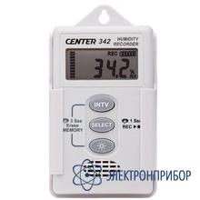 Малогабаритный  регистратор температуры и влажности CENTER 342