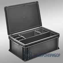 Антистатические внутренние сменные контейнеры для плоскодонных контейнеров rako 3-902-43 EL