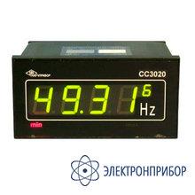Частотомер цифровой (щитовое исполнение) СС3020-Щ