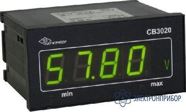 Вольтметр цифровой щитовой СВ3020