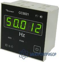 Частотомер цифровой щитовой СС3021