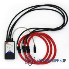 Для совместной работы с приборами энерготестер/энергомонитор Клещи токоизмерительные d=160мм,  Iном=30/300/3000А, гибкие