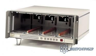 Шасси для установки 4-х модулей акип 3300С+GPIB