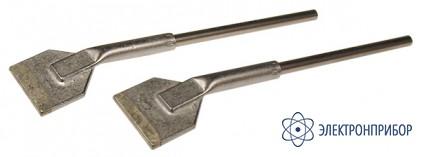 Насадки плоские (пара) к термопинцету, ширина 17,5мм (soic28) 452FDLF175 (422FD5)