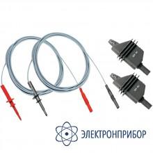 Комплект высоковольтных кабелей, 2х2 м и зажимов S2003