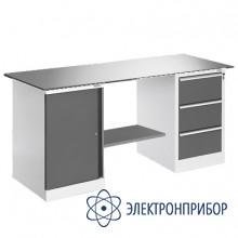 Верстак, оснащенный драйвером и тумбой ВР-18Т+ДР-03/1/№4