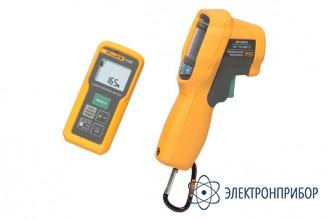Комплект лазерного измерителя расстояния и инфракрасного термометра Fluke 414D/62MAХ+ kit