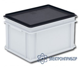 Антистатические крышки для плоскодонных контейнеров rako 3-215-0 EL