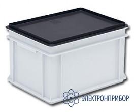 Антистатические крышки для плоскодонных контейнеров rako 3-213-0 EL
