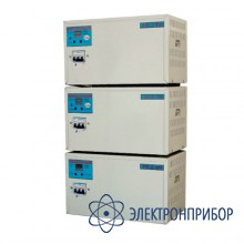 Трехфазный стабилизатор переменного напряжения с блоком контроля фаз СН 10000/3