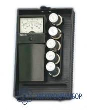 Вольтметр аккумуляторный с нагрузочными сопротивлениями ЭВ2235